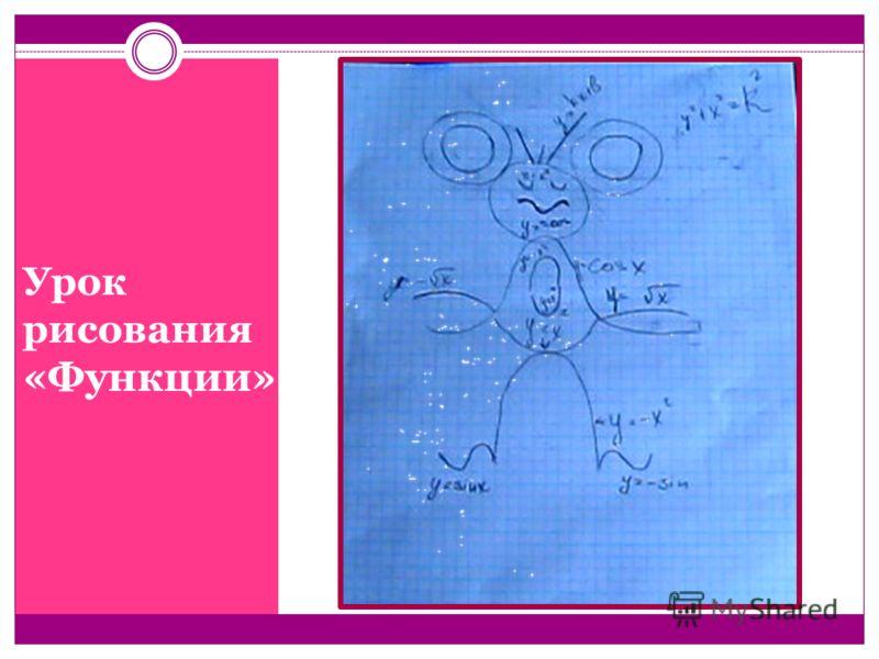 Урок рисования «Функции»
