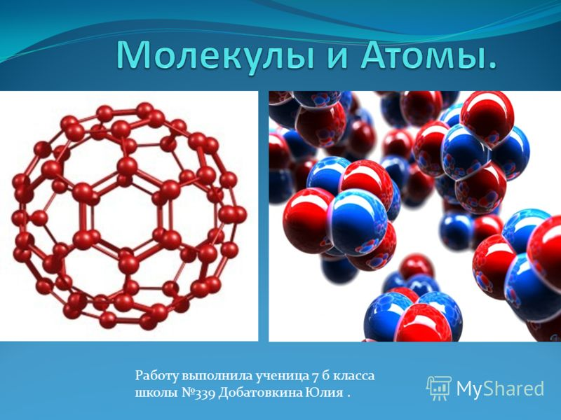 Работу выполнила ученица 7 б класса школы 339 Добатовкина Юлия.