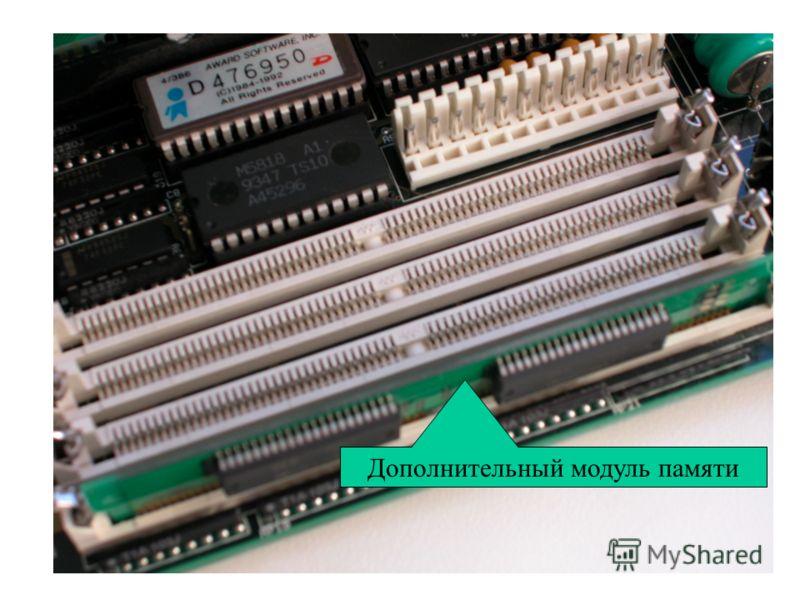 Дополнительный модуль памяти