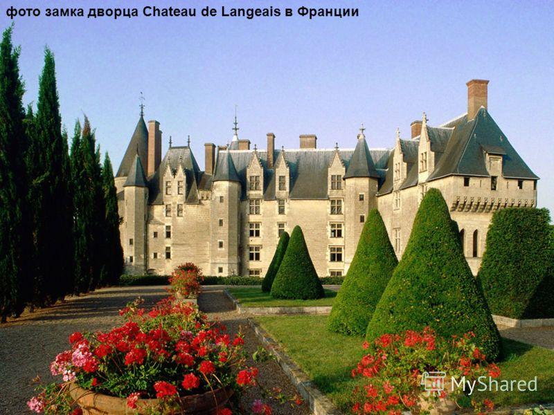 фото замка дворца Chateau de Langeais в Франции