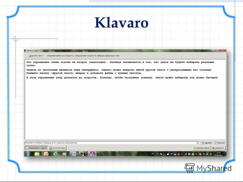 Klavaro