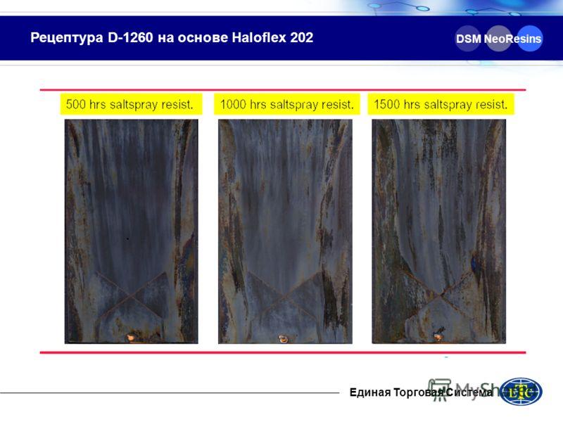 Рецептура D-1260 на основе Haloflex 202 DSM NeoResins Единая Торговая Система