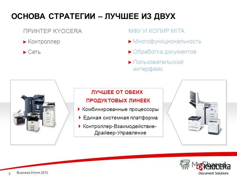 5 ОСНОВА СТРАТЕГИИ – ЛУЧШЕЕ ИЗ ДВУХ ЛУЧШЕЕ ОТ ОБЕИХ ПРОДУКТОВЫХ ЛИНЕЕК Комбинированные процессоры Единая системная платформа Контроллер-Взаимодействие- Драйвер-Управление ЛУЧШЕЕ ОТ ОБЕИХ ПРОДУКТОВЫХ ЛИНЕЕК Комбинированные процессоры Единая системная