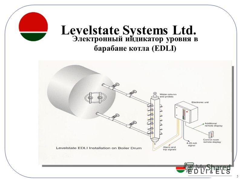5 Insert Product Photograph Here Электронный индикатор уровня в барабане котла (EDLI) Levelstate Systems Ltd.