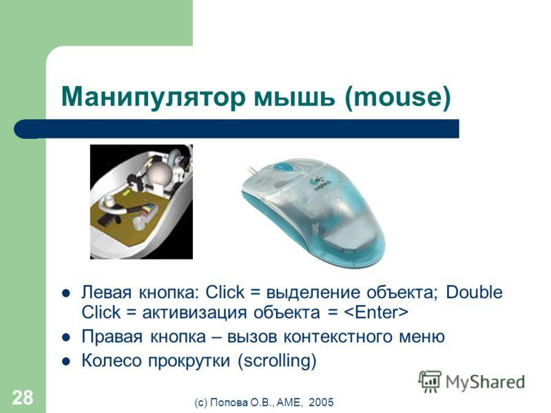 Устройства ввода Периферийные устройства