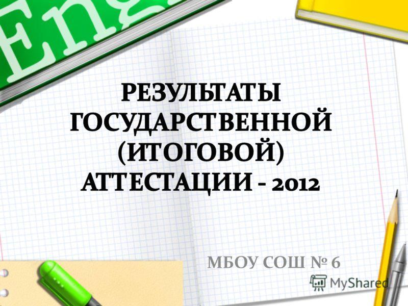 МБОУ СОШ 6