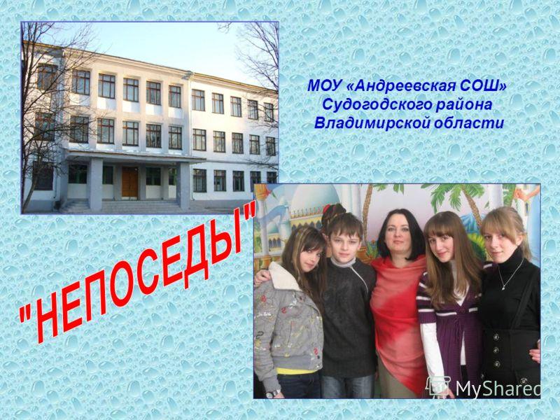 МОУ «Андреевская СОШ» Судогодского района Владимирской области