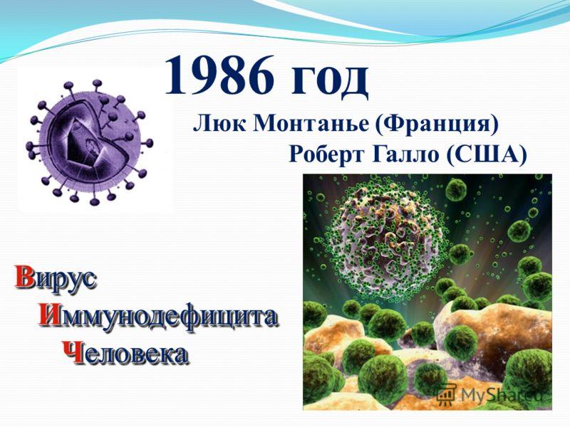 1982 год обозначение болезненного состояния организма человека - СИНДРОМ ПРИОБРЕТЕННОГО ИММУНОДЕФИЦИТА ЧЕЛОВЕКА – СПИД