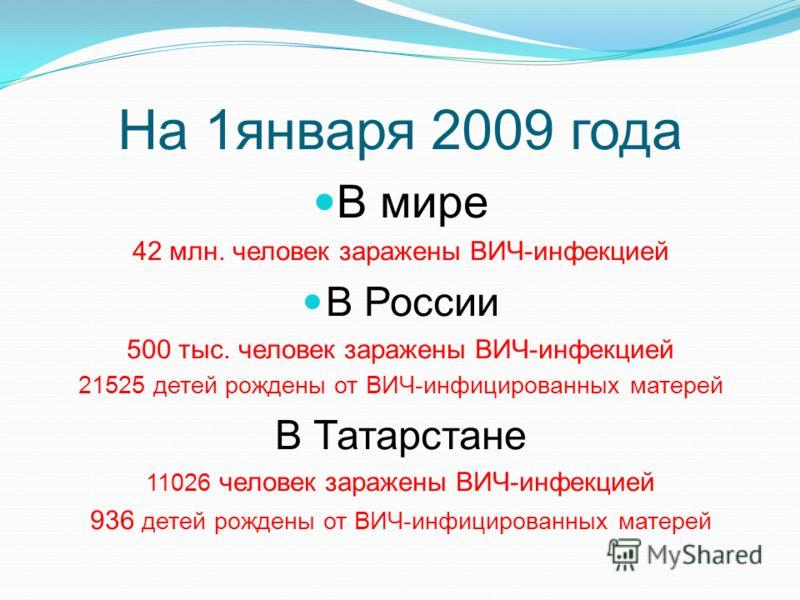 Официально зарегистрированные случаи ВИЧ-инфекции (тыс. чел.) и распространенность (чел. на 100 тыс. населения) Динамика развития эпидемии в РФ