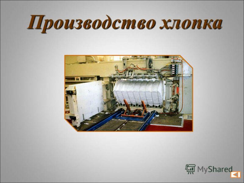 Производство хлопка
