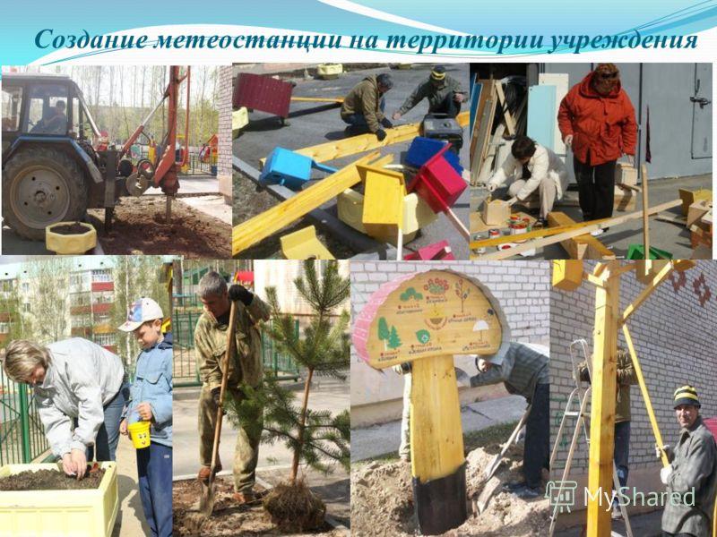 Создание метеостанции на территории учреждения