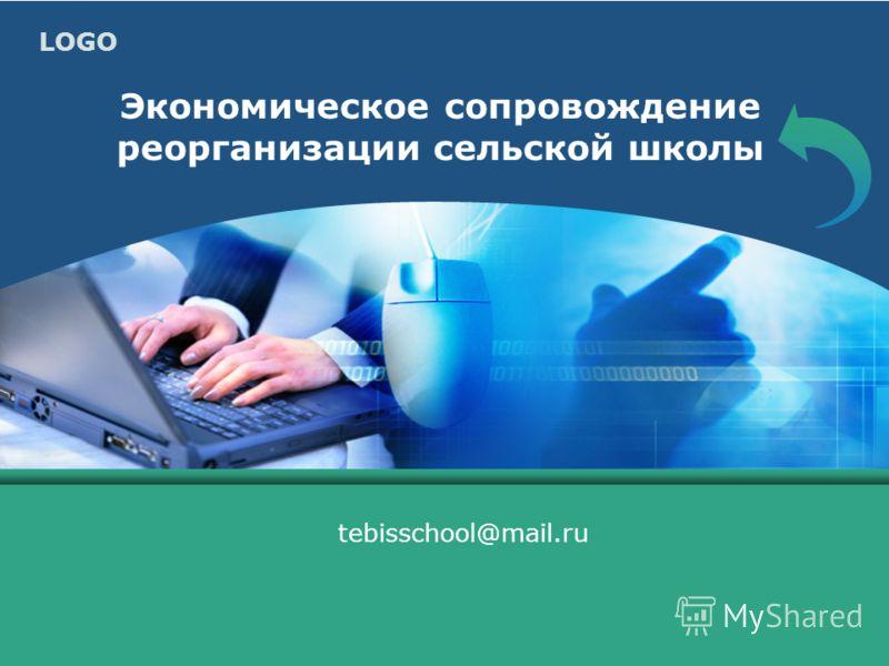 LOGO Экономическое сопровождение реорганизации сельской школы tebisschool@mail.ru