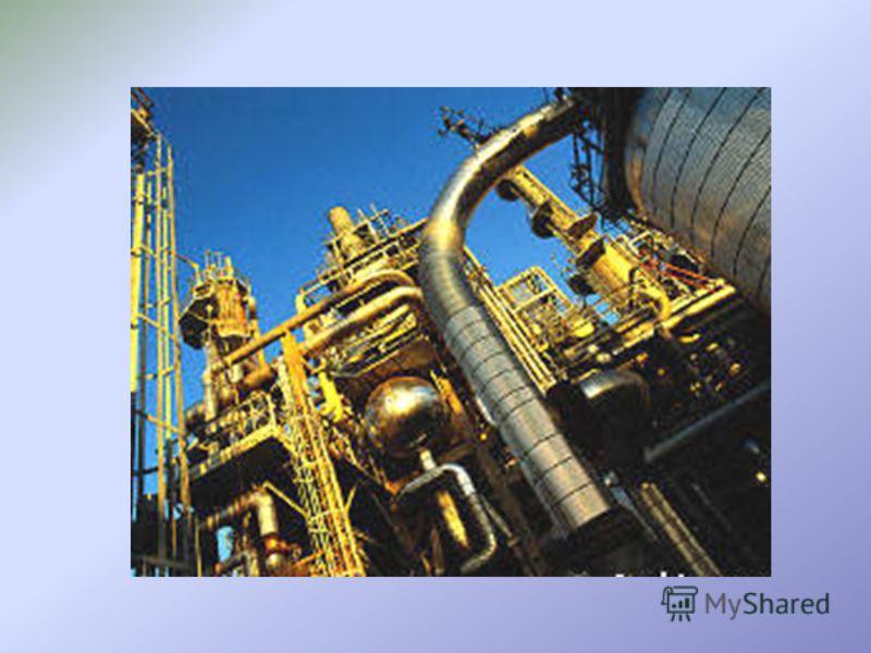 Крекинг нефти Термический процесс протекает медленно при 470-550 CТермический процесс протекает медленно при 470-550 C Каталитический процесс протекает быстро при 450-500 °СКаталитический процесс протекает быстро при 450-500 °С