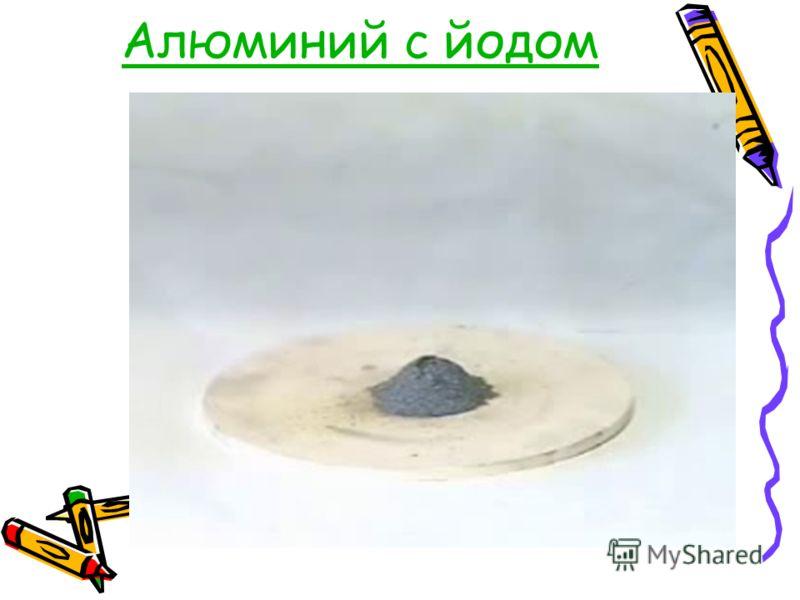 Алюминий с йодом