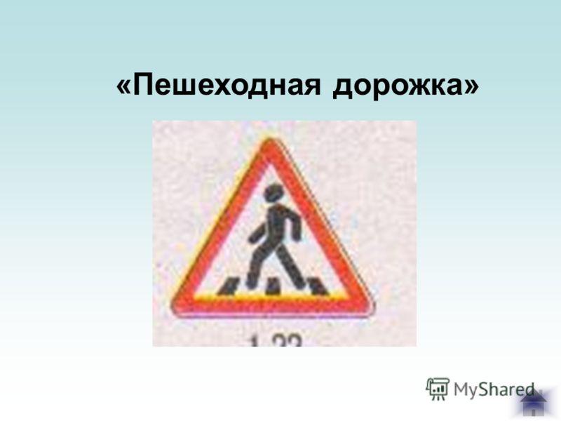 «Пешеходная дорожка»