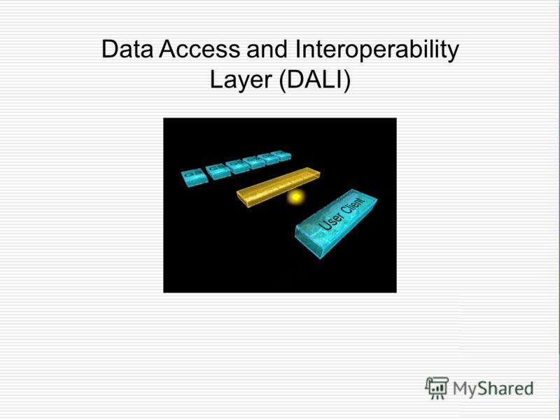 Data Access and Interoperability Layer (DALI)