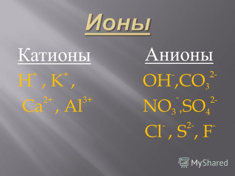 Ионы- заряженные частицы.