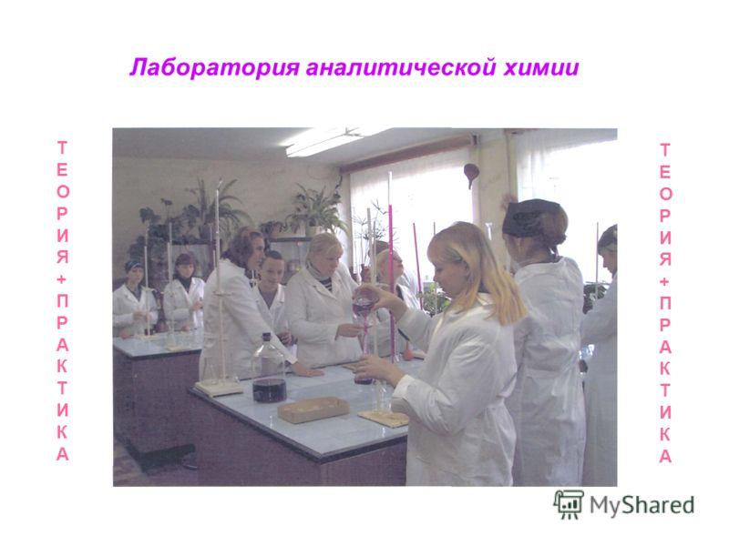 Лаборатория аналитической химии ТЕОРИЯ+ПРАКТИКАТЕОРИЯ+ПРАКТИКА ТЕОРИЯ+ПРАКТИКАТЕОРИЯ+ПРАКТИКА