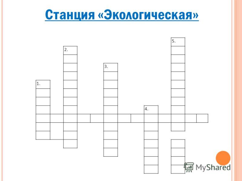 Станция «Экологическая» 5. 2. 3. 1. 4.