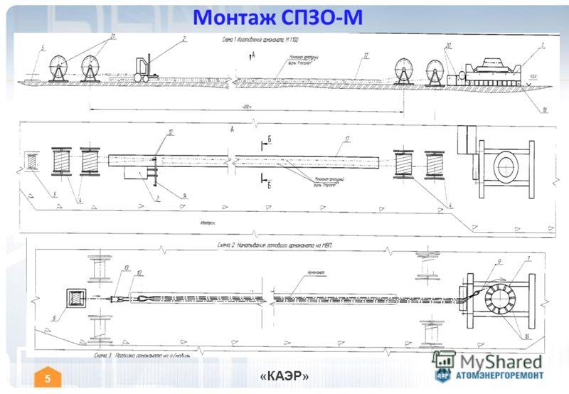 « КАЭР » 5 Монтаж СПЗО-М