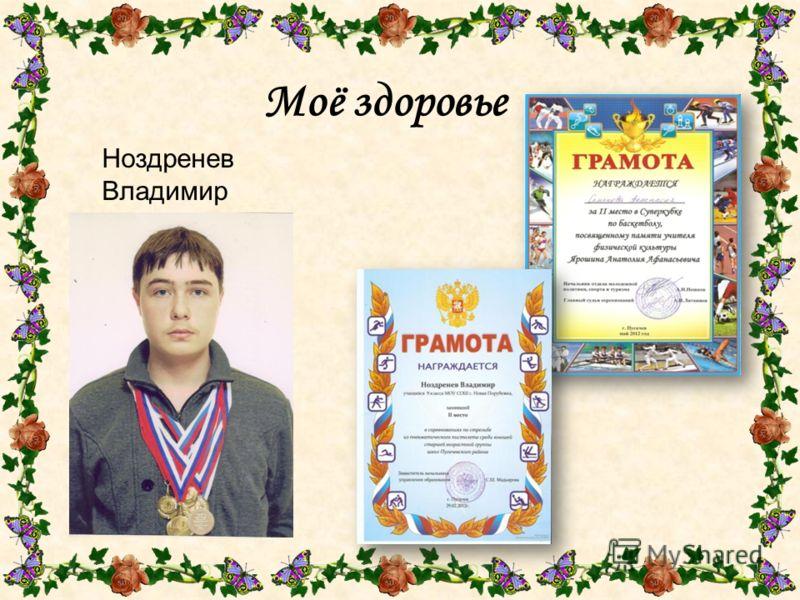 Моё здоровье Ноздренев Владимир