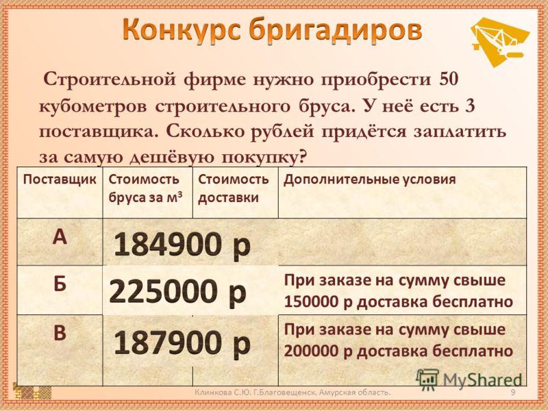 Клинкова С.Ю. Г.Благовещенск. Амурская область.8