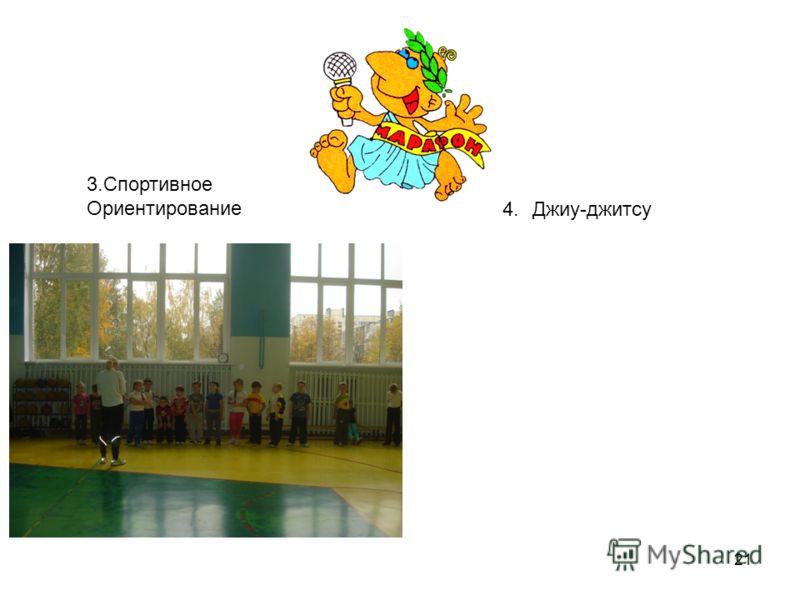 21 3.Спортивное Ориентирование 4.Джиу-джитсу