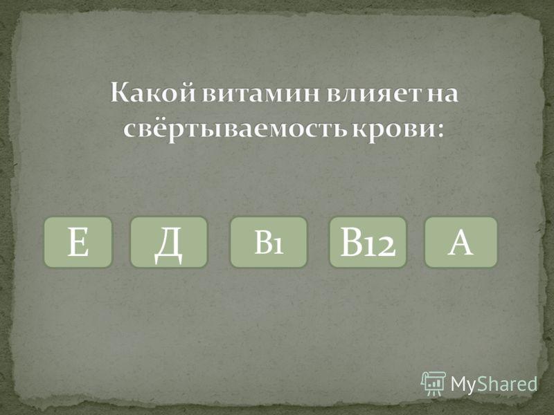 Е В1 Д В12А