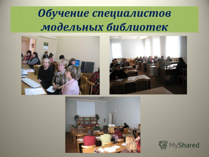 Обучение специалистов модельных библиотек