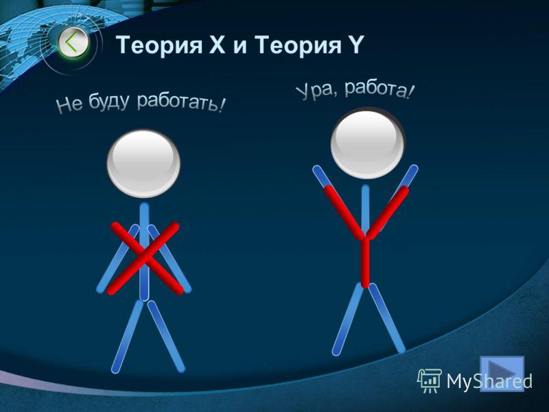 Теория X и Теория Y