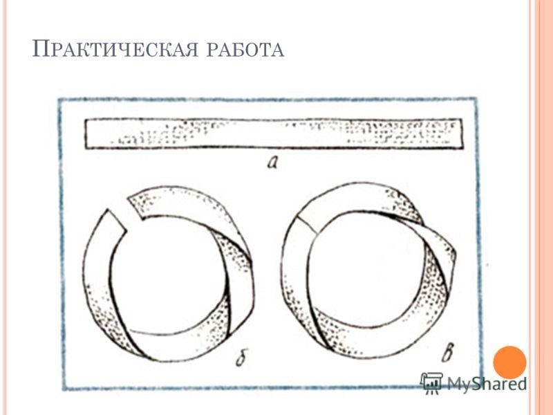 П РАКТИЧЕСКАЯ РАБОТА