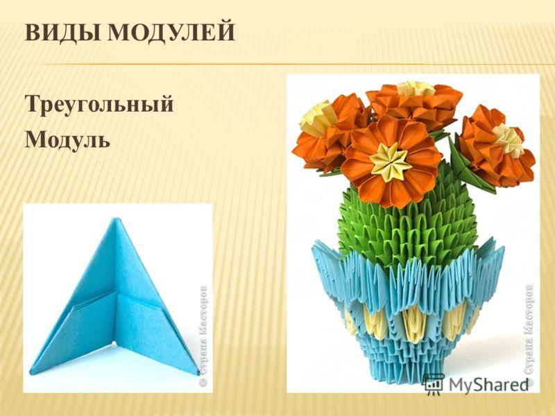 ВИДЫ МОДУЛЕЙ Треугольный Модуль