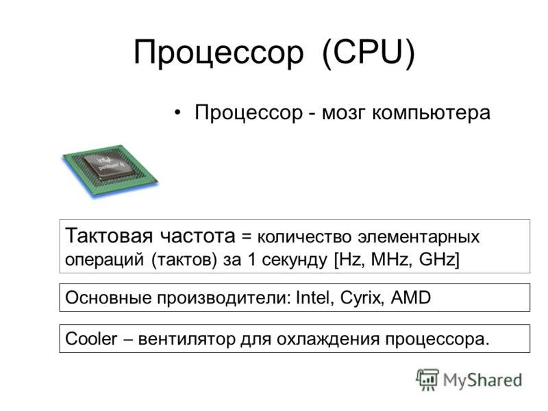 Материнская плата (Motherboard) Это сердце компьютера, самое большое и сложное устройство. Именно к