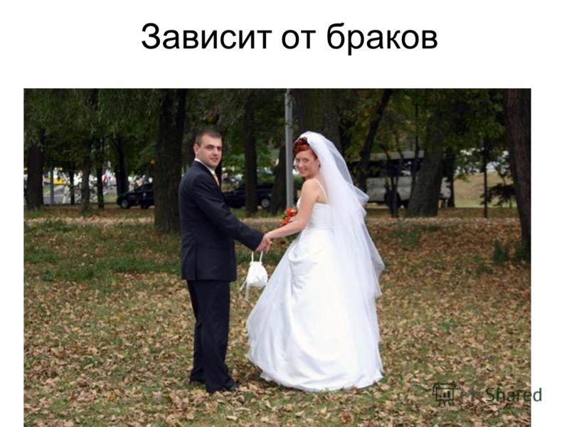 Зависит от браков