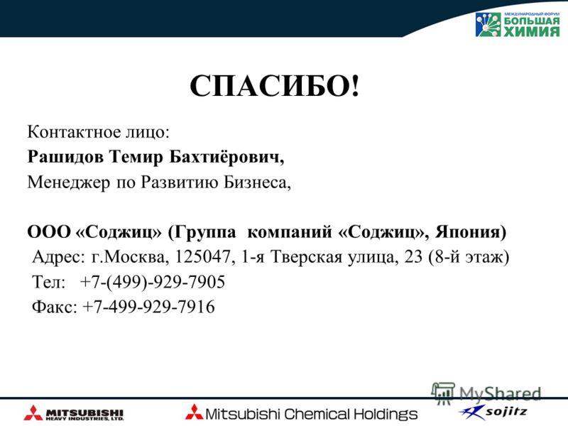 Результат Россия: Развитие газовой химии и нефтехимических производств Мицубиси: Предлагаем широкий спектр технологий и ноу-хау, а также возможность EPC Японское финансирование: Привлекательное финансирование Японского Банка Международного Сотрудниче
