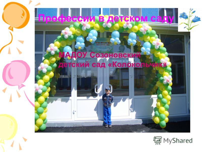 МАДОУ Созоновский детский сад «Колокольчик» Профессии в детском саду
