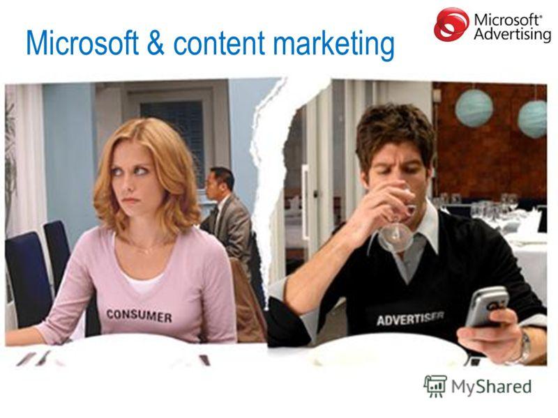Microsoft & content marketing