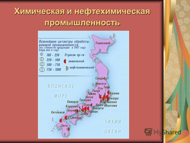 Территориальная структура хозяйства Японии