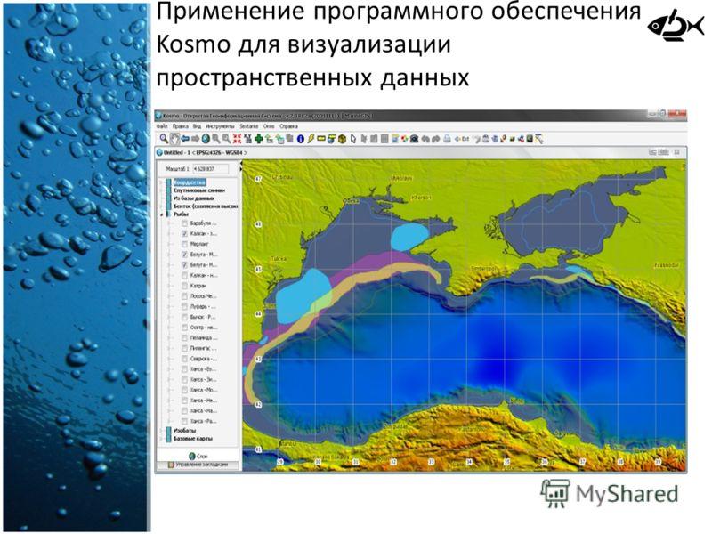 Применение программного обеспечения Kosmo для визуализации пространственных данных
