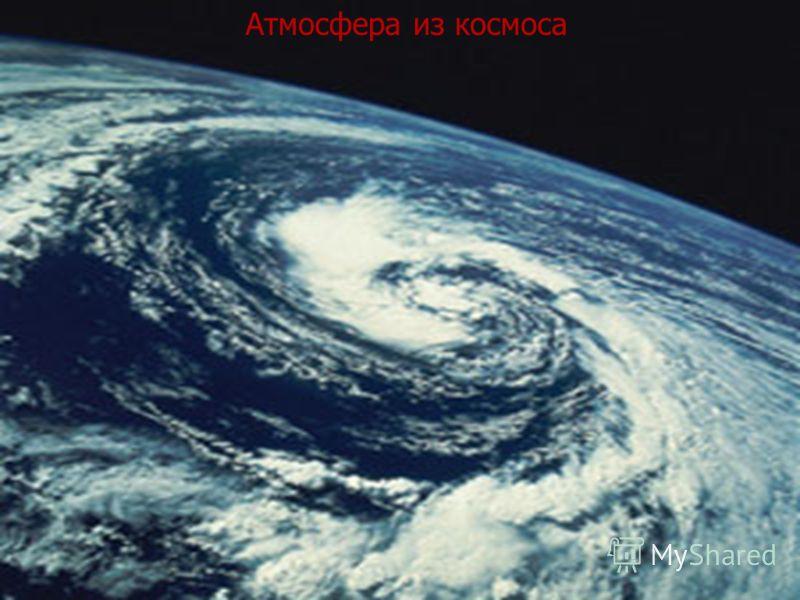 Атмосфера из космоса
