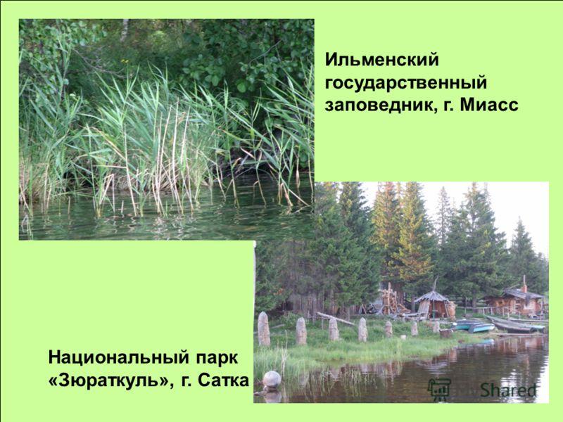 Ильменский государственный заповедник, г. Миасс Национальный парк «Зюраткуль», г. Сатка