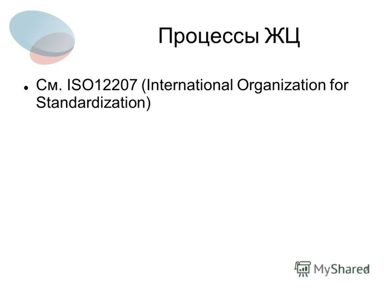 3 Процессы ЖЦ См. ISO12207 (International Organization for Standardization)
