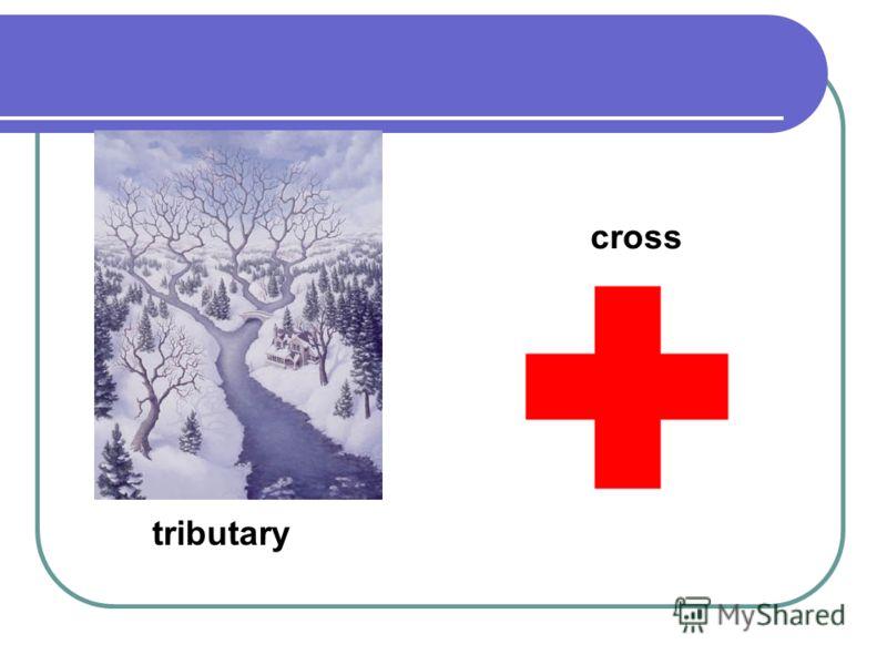 tributary cross