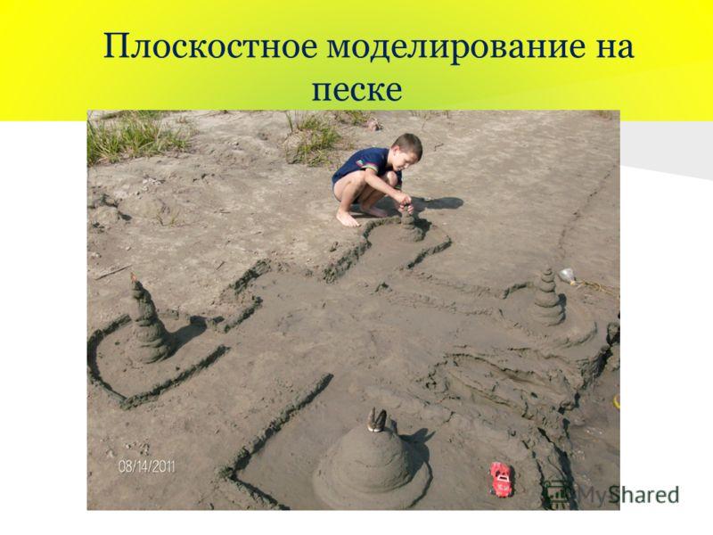 Плоскостное моделирование на песке
