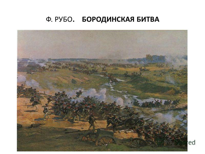 Ф. РУБО. БОРОДИНСКАЯ БИТВА