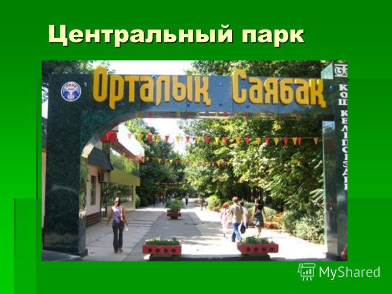 Центральный парк Центральный парк