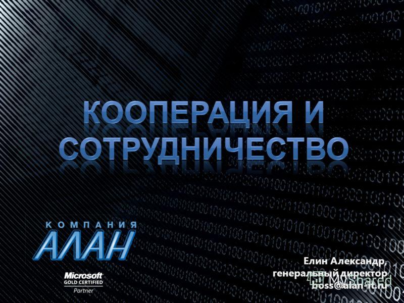 Елин Александр, генеральный директор boss@alan-it.ru
