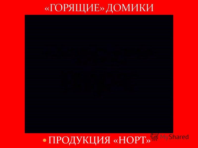 ПРОДУКЦИЯ «НОРТ»