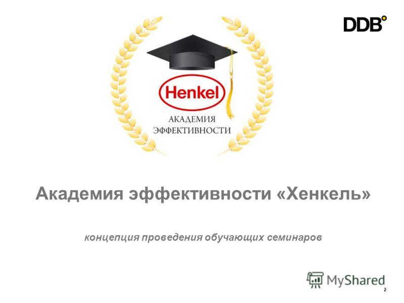 2 Академия эффективности «Хенкель» концепция проведения обучающих семинаров