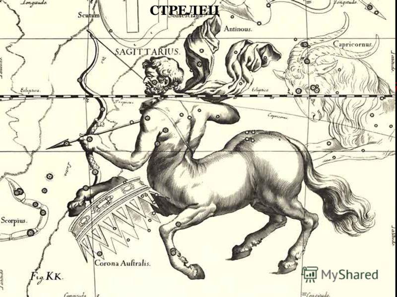 Названия очень многих созвездий пришло к нам из Древней Греции, связанные с персонажами различных мифовмифов и легенд.легенд Созвездие Единорога Созвездие Лебедя КозерогСозвездие Центавр СТРЕЛЕЦ